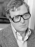 Actor Michael Caine During an Interview with the Reveille Newspaper During the Summer of 1974 Photographic Print