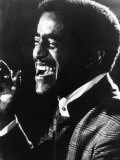 Sammy Davis Jnr American Singer Actor on Stage 1971 Photographic Print