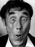 Frankie Howerd Comedian Sucked in Cheeks Photographic Print