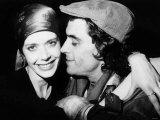 Actress Sylvia Kristel with Boyfriend Ian McShane, 1978 Lámina fotográfica