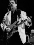 Lou Reed American Singer on Stage 1992, at London Hammersmith Odeon Photographic Print