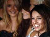 The Lovely Ladies of Girls Aloud Arrive at the Priide of Britain Awards in Central London Fotografisk tryk