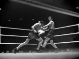 Boxing at Harringay Terry Allen V. Rinty Monaghan. February 1949 Photographic Print