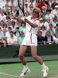 Wimbledon Tennis. Martina Navratilova. June 1988 Photographic Print
