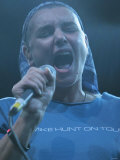 Sinead O'Connor Performing at the V Festival at Hylands Park in Chelmsford, Essex Photographic Print