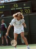 Wimbledon Semi Final. Steffi Graf V. Pam Sheiver. June 1988 Fotografiskt tryck