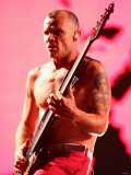 Red Hot Chili Peppers Headlining the Main Stage on Saturday Night at the Reading Festival Photographie