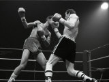 Boxing at Wembley, Charlie Magri vs. Eleoncio Mercedes, March 1983 Photographic Print