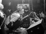 Johnny Rotten- Lead Singer with the Sex Pistols Performing in Holland Fotoprint