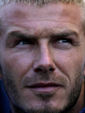 L.A Galaxy Vs Chelsea in Los Angeles Usa. David Beckham Photographic Print