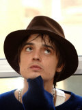 Pete Doherty at Jurys Hotel in Islington During an Exclusive Interview with the Daily Mirror Photographic Print