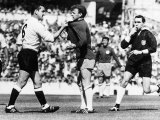 Dave McKay Footballer Plays For Spurs vs Leeds Photographic Print