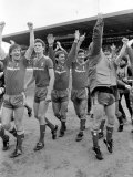 Chelsea 0 V. Liverpool 1. Division One Football May 1986 Photographic Print