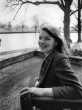 Actress Glenda Jackson, March 1965 Photographie