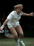 Boris Becker, Wimbledon Tennis, June 1988 Papier Photo