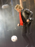 Rod Stweart Performing at the Princess Diana Memorial Concert at Wembley Stadium Photographic Print