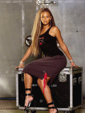 The World Biggest Girl Group Destiny's Child's Beyonce Knowles at Houston Films Studios in Texas Photographie