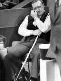 Snooker. Taylor Dennis. April 1986 Photographic Print