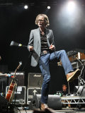 Jarvis Cocker Former Lead Singer of Pulp Performing at the V Festival at Hylands Park Fotografická reprodukce