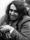 Tiny Tim on the Roof of the Playboy Club Complete with Ukelele. October 1968 Fotodruck