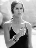 Bond Girl Barbara Bach in the Film 'The Spy Who Loved Me'. December 1988 Photographie