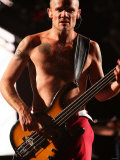 Red Hot Chili Peppers Headlining the Main Stage at the Carling Reading Festival Photographie