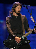 Dave Grohl of US Rock Band Foo Fighters Performs on the Main Stage at V Festival in Hylands Park Photographic Print