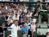 Wimbledon. John Mcenroe. June 1988 Photographic Print