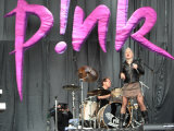Pop Star Pink Performing at the V Festival at Hylands Park in Chelmsford, Essex Photographic Print