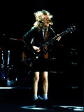 Angus Young of Metal Band AC/DC, in Concert at Wembley Arena Photographic Print