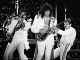 Rock Group Queen in Concert at St James Park in Newcastle Photographic Print