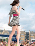 Sophie Ellis Bextor at the T4 Party on the Beach, Weston Supermare Fotografie-Druck