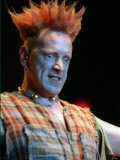 Johnny Rotten on Stage at SECC Glasgow July 1996 Photographic Print