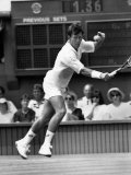 British No1 Jeremy Bates Missed Out on Golden Oppurtunity of a Wimbledon Clash with John McEnroe Fotografiskt tryck
