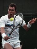 Wimbledon Tennis. Ivan Lendle. June 1988 Fotografiskt tryck