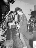 The Stranglers on Stage at Their Manchester Concert June 1977 Photographic Print