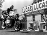 Sport Motorcycling: Isle of Man Tt Racing Production 250Cc Class. Action. June 1969 Photographic Print