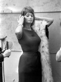 "Sophia Loren Filming ""The Millionairess"" at London Bridge, June 1960 Photographie"