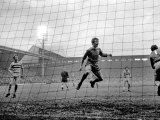 Liverpool Victory 2-0, Liverpool vs. West Ham, November 1969 Photographie