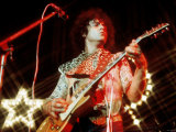 Marc Bolan Singer Guitarist on Stage Msi Photographic Print