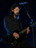 Dave Grohl of US Rock Band Foo Fighters Performs on the Main Stage at V Festival in Hylands Park Fotografická reprodukce