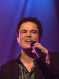 Donny Osmond Performing at the Odyssey Arena, February 2003 Photographic Print