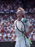 Wimbledon. Semi Final Navratilova V. Evert. June 1988 Photographic Print