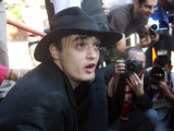 Pete Doherty at West London Magistrates Court Where He Appeared on Drugs Charges Photographic Print