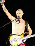 Red Hot Chili Peppers Headlining the Main Stage on August 25th at the Carling Reading Festival Fotografická reprodukce