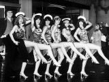 Sarah Brightman Singer with Dance Group Pans People Photographic Print