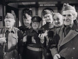 "Cast of BBC's ""Dad's Army"" Got Together For the Last Time After the Recording Photographic Print"