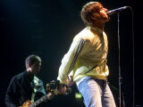 Liam Gallagher of Oasis Performing in the Odyssey Photographic Print