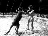 Alan Minter vs the Hopping Aussie Lámina fotográfica
