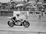 500cc British Grand Prix Motorcycle Race at Silverstone Photographie